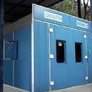 Motor Cycle Paint Booth